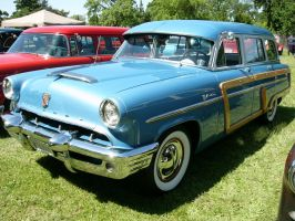 1953 Mercury station wagon 1 by RoadTripDog