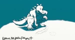 Sumo Godzilla by Ice-Dragon220