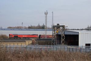DB Schenker Super-Shed by robertbeardwell
