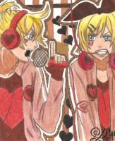 Len and Rin-Unhappy Refrain{Request} by haruhi116