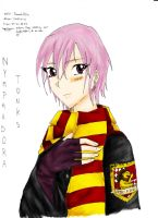 Nymphadora Tonks - Coloured 2 by yakechan