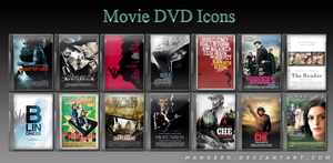 Movie DVD Icons 4 by manueek