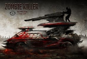 Zombie Killer by AlexRuizArt