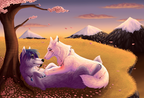 Forbidden Love By Sunset by Mirandarin
