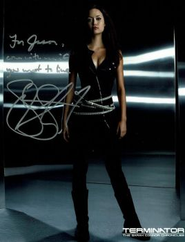 Signed Summer Glau Autograph [London MCM Expo] by DoctorWhoOne