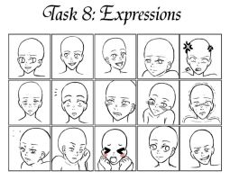 GM - Task 8 Expressions Late by Princess-Hazel
