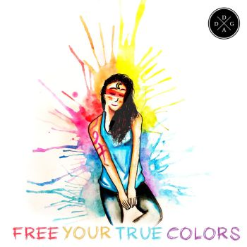 FREE YOUR TRUE COLORS by DaCunha-Art