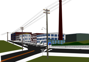 A old factory complex by OceanRailroader