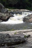 Linville Falls 02 by Voodoo-Wolf