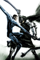 Mr.Fantastic and Dr.Doom by naratani