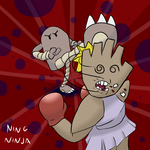 Hitmon Fight by NingNinja