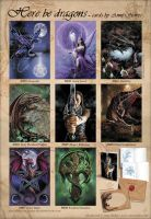 Dragon cards by Ironshod