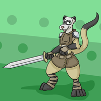 Ferret Warrior by Weazel75