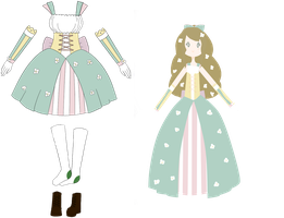 CE: Pastel Flower Princess by LukasB-adopts
