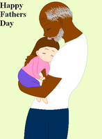 Little Me and My Papa .:Happy Fathers Day:. by Sonicfan101ist