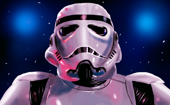 Stormtrooper by CC3TheArtist