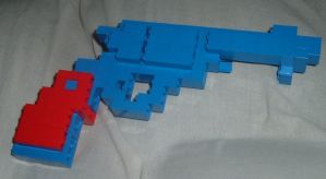 Lego Colt Single Action Army by kliefox
