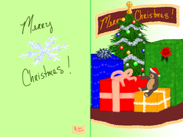 Christmas 2 2014 card by MalkavianOne
