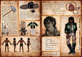 TBOS: Bechen Ref Sheet by Conspiracy-Z-Cycle