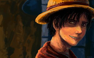 Luffy Redraw by CodeNameZimbabwe