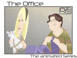 The Office -Angela and Phyllis by johnnymartini