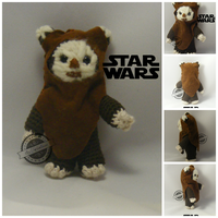 Ewok amigurumi from Star Wars by elveawen