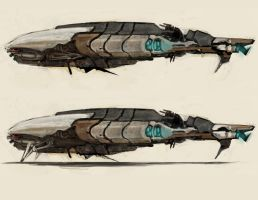 Old Republic Merchant Ship by NukeouT