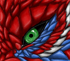 Dragon Eye: close up by xSpickeyx