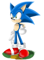 Just Sonic by SonicSpeedz