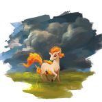 Ponyta by linxz2010
