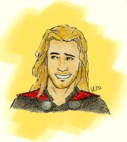 Thor by RedHandedJill44