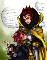 -FE- damn you Gangrel by J-J-Joker
