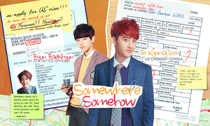 [CONTEST] Somewhere Somehow ft. EXO's BaekSoo by pocket-girl