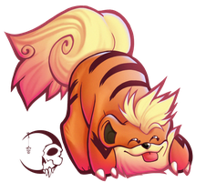 .:Growlithe:. by iKacte