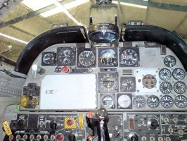 NF-5B Forward Cockpit. by kaasjager
