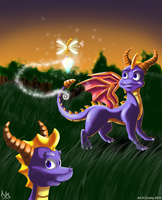 Spyro 2010: Whatcha got there? by Cocho