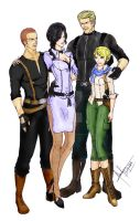 Wesker's Family by divadonna224