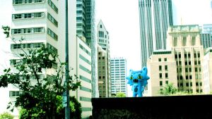 Nickle lost in the city by ricebowlfactory