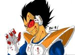 Vegeta I am a bad guy by BK-81 by Sonike
