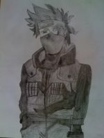 Kakashi Drawing by MD3-Designs