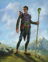 Hipster Mage by Quigleyer