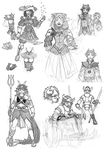 HS sketchdump 3 by Arianod
