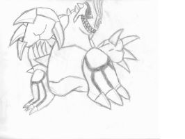 groudon scetch by PoloMarco01