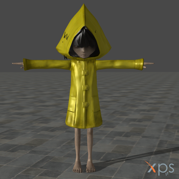 Little Nightmares - Six [pack] for XPS download by Miko724