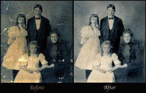 Photo Restoration by zanefoster