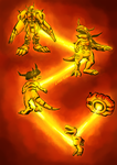 Warp Evolution Agumon by Lord-Evell