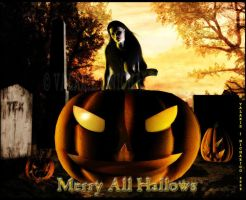 Merry All Hallows by vaia