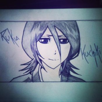Rukia Kuchiki by The-Outcast1