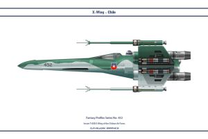 Fantasy 452 X-Wing Chile by WS-Clave
