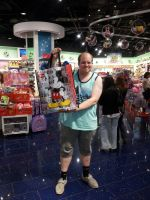 Me at Disney Store in Portugal by MortenEng21